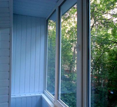 Заказать тёплое остекление балкона или лоджии пластиковыми п.